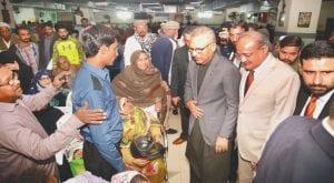 President Arif Alvi makes surprise visit to NICH
