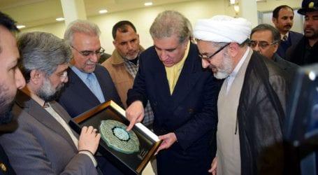 FM Qureshi visits shrine of Imam Reza in Mashhad