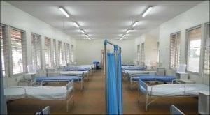 isolation wards established