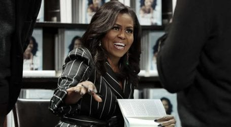 Michelle Obama wins Grammy for her audiobook