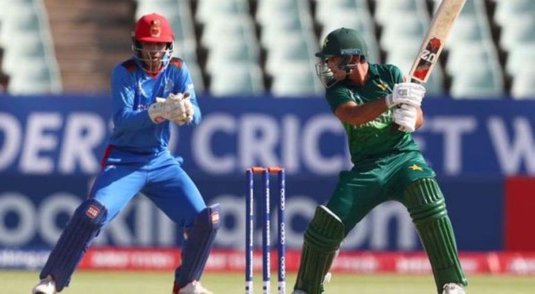 ICC U19 Word Cup: Pakistan beats Afghanistan by 6 wickets