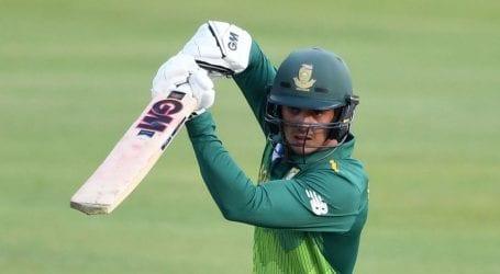 Quinton de Kock named captain of new-look Proteas ODI squad