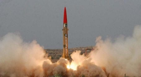 Pakistan successfully conducts training launch of Ghaznavi missile