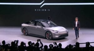 Sony unveils Vision S to join the race of electric vehicles