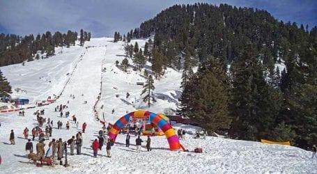 Three-day snow festival starts in Galyat