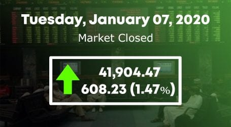 Stock market regains control as 100 index gains 608 points