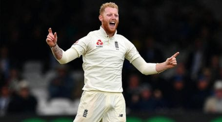 England's Ben Stokes named ICC player of the year