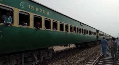Five people killed after being hit by train near Sukkur