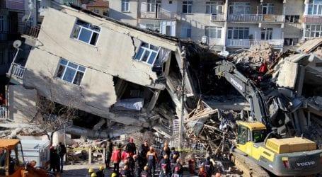 Erdogan inspects rescue efforts as Turkey quake kills 22