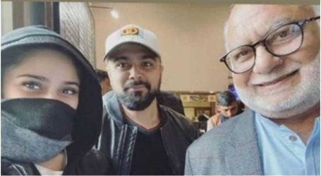 Aima Baig departs to perform Umrah with family
