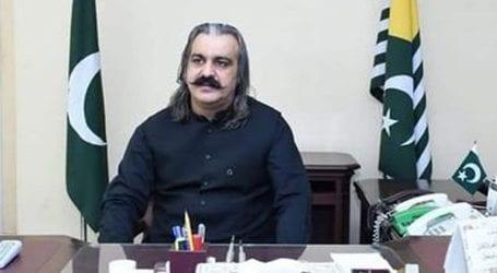 Ali Amin Gandapur condemns atrocities in IOK