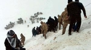 Over 33 people killed by avalanche in eastern Turkey