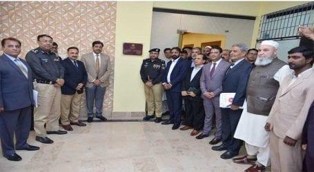 IGP Sindh inaugurates new police building in Keamari