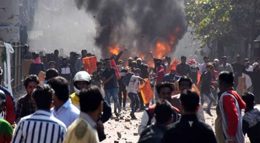 Image result for 18 killed, over 180 injured in India's sectarian riots