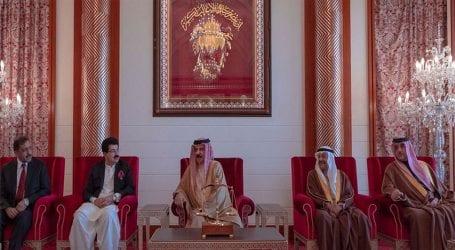 Chairman Senate Sadiq Sanjrani meets King of Bahrain