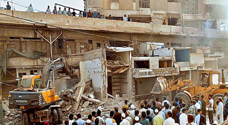Karachi citizens being targeted in anti encroachment drive: PTI