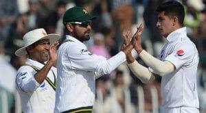 Pakistan win first test by 44 runs against Bangladesh in Rawalpindi