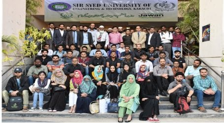 SSUET organises orientation session for students