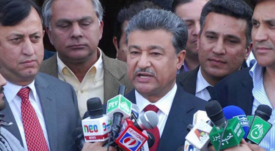 Islamabad Mayor Sheikh Ansar Aziz has been suspended for a 90-day period over corruption allegations, according to the interior ministry.