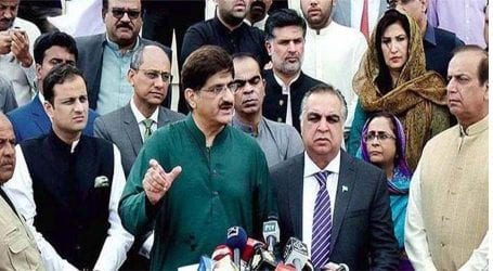 Sindh Governor, CM lead joint rally to observe Kashmir Day