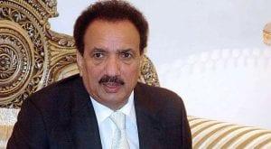 Rehman Malik announces to write, produce film on plight of IoK