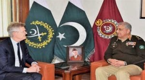 US anti-polio team calls on COAS Qamar Bajwa at GHQ