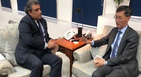 Chinese Ambassador Yao Jing calls on Ali Haider Zaidi