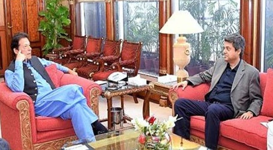 Federal Law Minister Farogh Naseem calls on PM Imran
