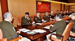 Pak Army prepared to thwart any misadventure: Corps Commanders
