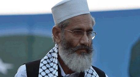 People responsible for flour, sugar crisis are members of PTI: Siraj-ul-Haq