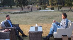 DG ISI Faiz Hameed calls on PM Imran at PM house