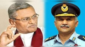 Air Chief Mujahid Khan calls on Sri Lankan Defence Minister