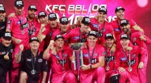 Sydney Sixers beats Melbourne Stars, clinches BBL trophy