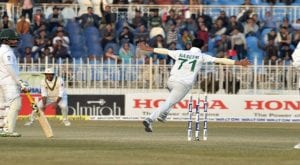 First Test: Naseem Shah's hat-trick put Pakistan on dominating position