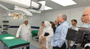 SIUT opens Robotic, three-dimensional laparoscopic theatre