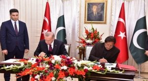 Pakistan, Turkey inks thirteen MoUs for cooperation in various fields