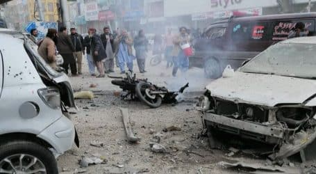 Five among two traffic officials injured in Peshawar blast