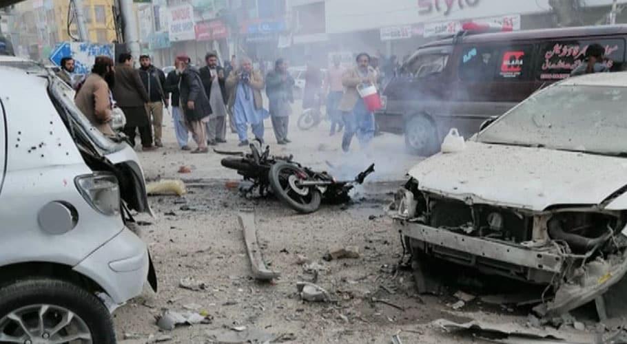 Seven killed including two police officials in blast near Quetta press club