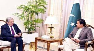 UN Secretary-General calls on PM Imran, discuss various issues