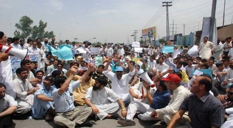Young Doctors Association continues protest in Sindh