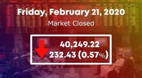 Stock market end in the red over muted activity