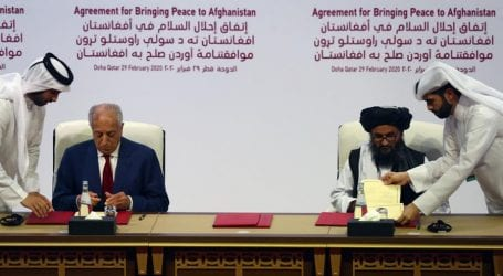 US, Afghan Taliban sign historic peace agreement in Doha
