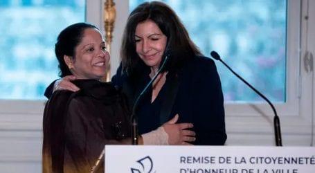 Asia Bibi receives honourary citizenship of Paris