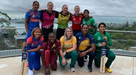 Captains gear up for Women's T20 World Cup