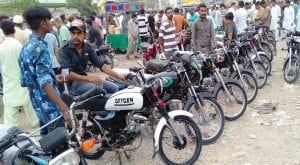CPLC data shows over 90 bikes stolen or snatched each day in Karachi