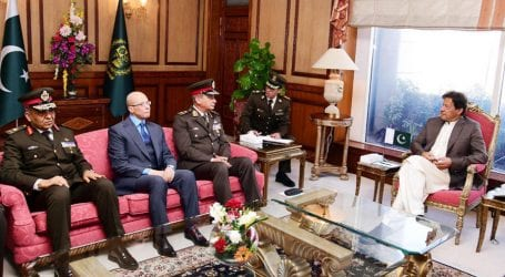 PM discusses bilateral issues with Egyptian Defence Minister