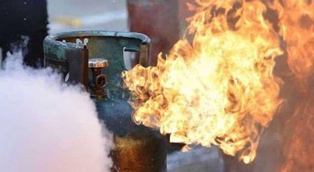Nine injured in Gujranwala gas cylinder explosion