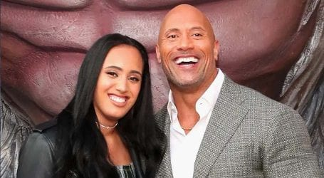 The Rock's daughter training to become WWE wrestler