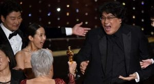 Parasite makes history by winning Oscar for best movie category