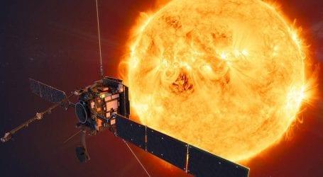 Solar probe embarks on mission to map sun's polar regions